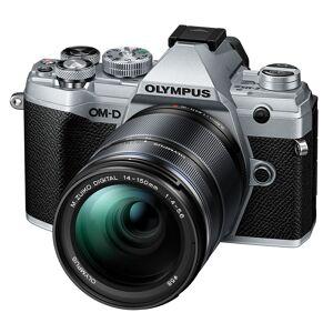 Olympus E-M5 Mark III kamerahus silver + M.Zuiko Digital ED 14-150/4,0-5,6 II