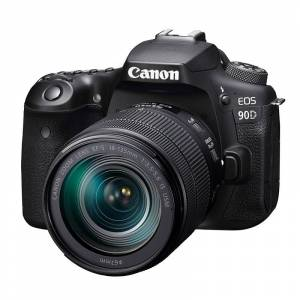 Canon EOS 90D hus + EF-S 18-135/3,5-5,6 IS USM