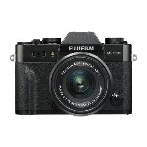 Fujifilm X-T30 kamerahus, svart + Fujinon XC 15-45/3,5-5,6 OIS PZ