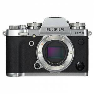 Fujifilm X-T3 kamerahus, silver