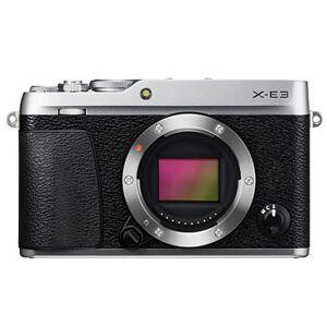 Fujifilm X-E3 silver kamerahus