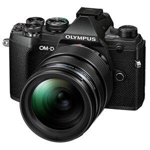 Olympus E-M5 Mark III kamerahus svart +  M.Zuiko Digital ED 12-40/2,8 PRO