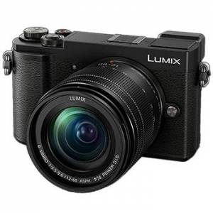 Panasonic Lumix DC-GX9 kamerahus svart + G Vario 12-60/3,5-5,6 Power O.I.S