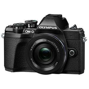 Olympus E-M10 Mark III kamerahus svart + M.Zuiko Digital 14-42/3,5-5,6 EZ
