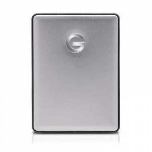 "G-Technology G-DRIVE mobile USB-C v2 1TB Silver 2,5"""