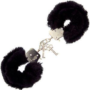 Cave Master Furry Love Cuffs - Svart