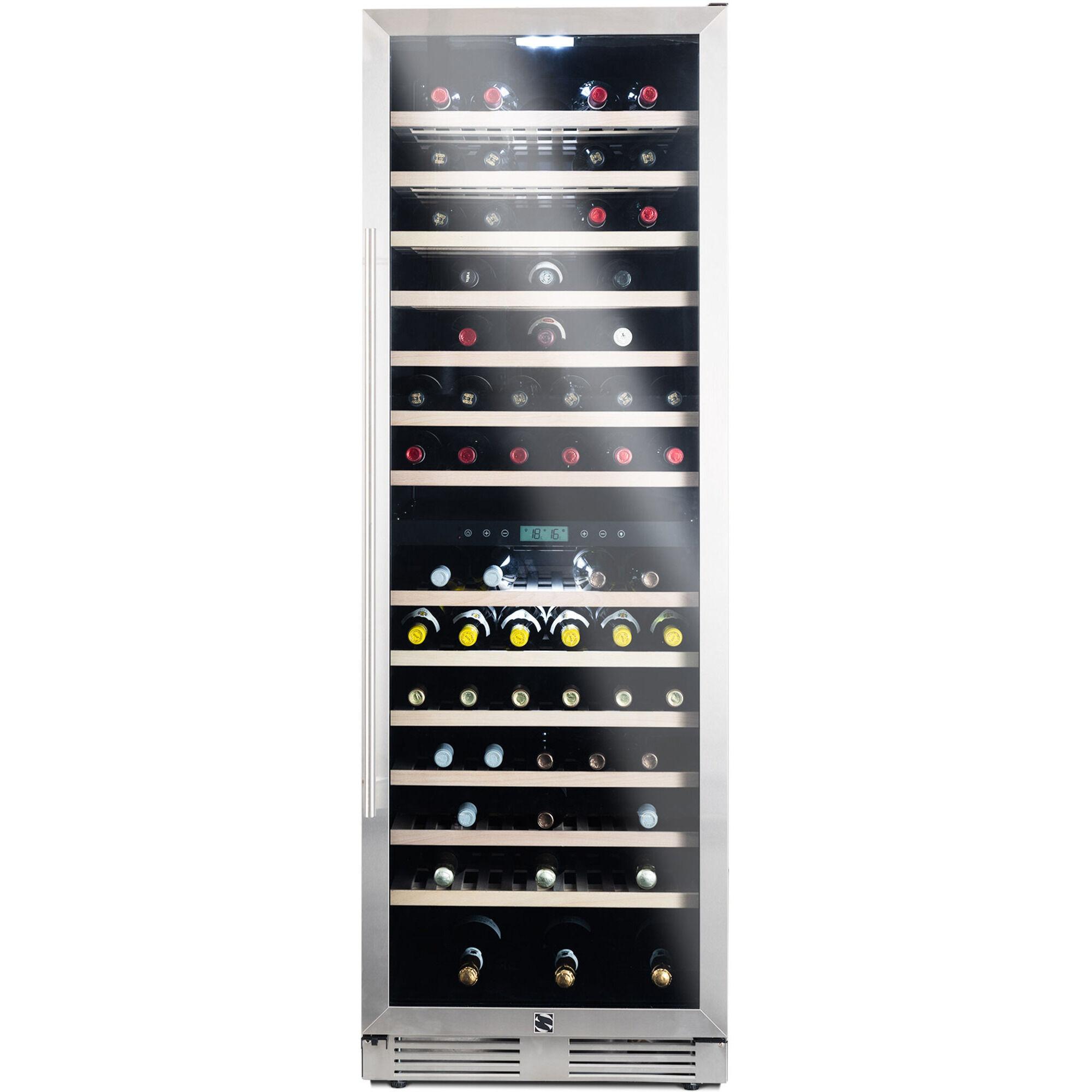Shefu Vinkyl 165 flaskor Rostfritt stål
