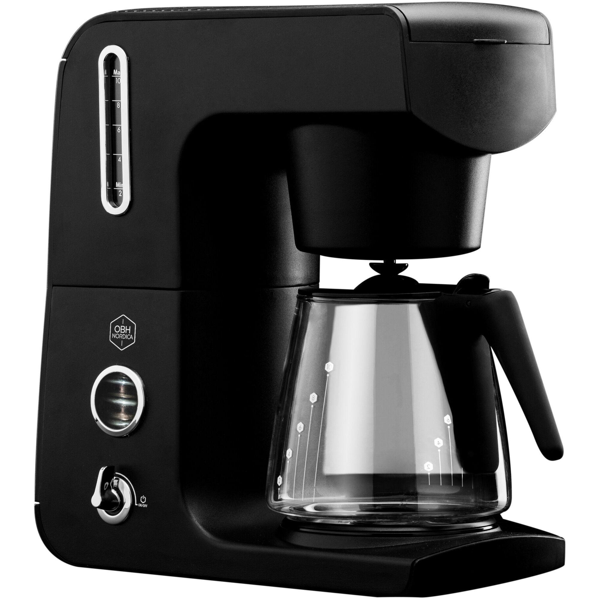OBH Nordica LEGACY Kaffemaskine, sort