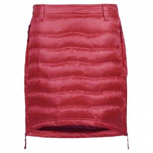 Skhoop Short Down Skirt Röd