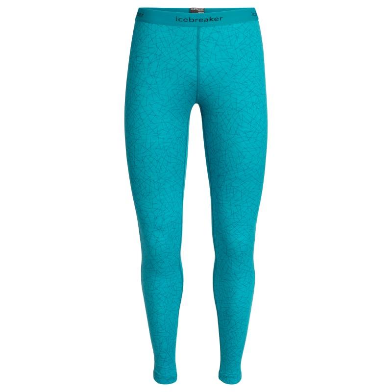 Icebreaker Women's 200 Oasis Leggings Sky Blå
