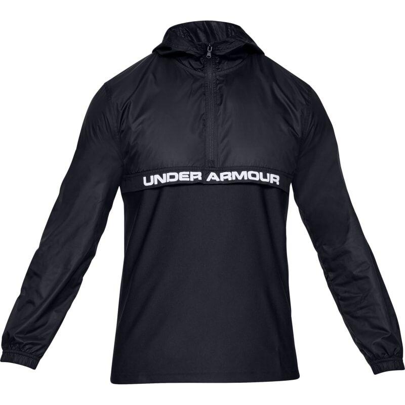 Under Armour Men's UA Sportstyle Woven ½ Zip Svart