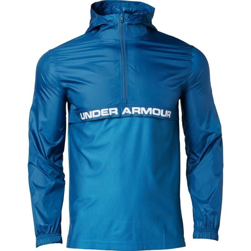 Under Armour Men's UA Sportstyle Woven ½ Zip Blå