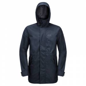 Jack Wolfskin Men's Cape Point Jacket Blå