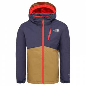 The North Face Youth Snowquest Plus Jacket Lila