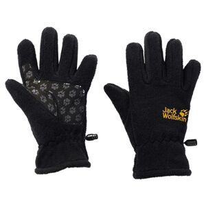 Jack Wolfskin Fleece Glove Kids Svart