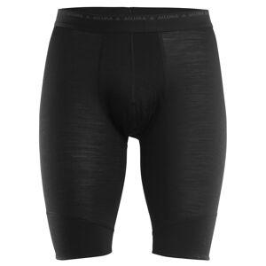 Aclima LightWool Shorts Long Men Svart