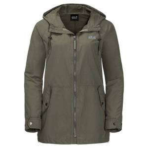 Jack Wolfskin Lewiston Women's Jacket Grön