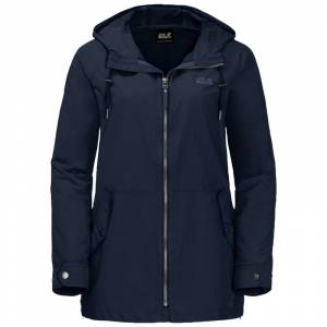 Jack Wolfskin Lewiston Women's Jacket Blå