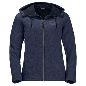 Jack Wolfskin Sky Thermic Hooded Jacket Women Blå