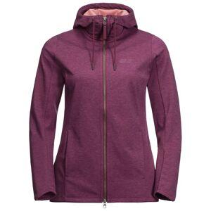 Jack Wolfskin Women's Riverland Hooded Jacket Lila