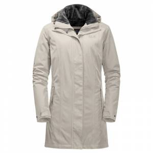 Jack Wolfskin Women's Madison Avenue Coat Beige