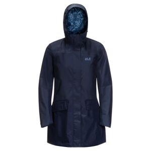 Jack Wolfskin Women's Cape York Coat Blå