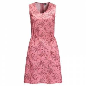 Jack Wolfskin Tioga Road Print Dress Rosa