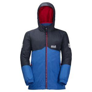 Jack Wolfskin Boy's Iceland 3-in-1 Jacket Blå