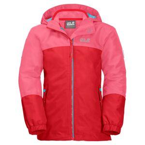 Jack Wolfskin Girls Iceland 3in1 Jacket Rosa