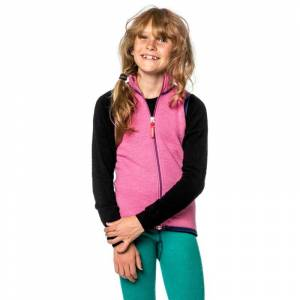 Woolpower Kids Vest 400 Rosa