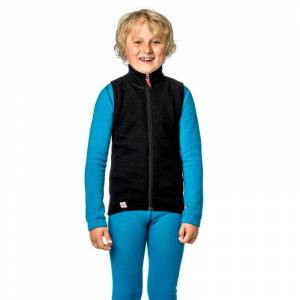 Woolpower Kids Vest 400 Svart