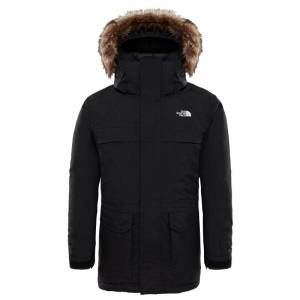 The North Face Boy's McMurdo Parka Svart