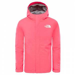The North Face Youth Snowquest Jacket Röd