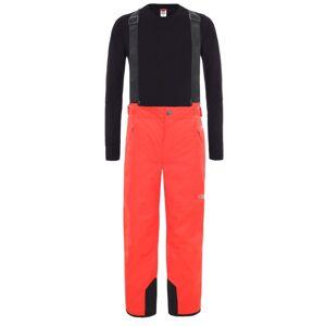 The North Face Youth Snowquest Suspender Plus Pants Röd