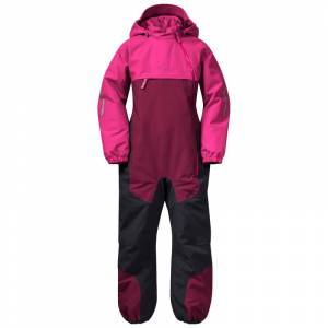 Bergans Lilletind Insulated Kids Coverall Rosa