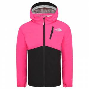 The North Face Youth Snowquest Plus Jacket Rosa