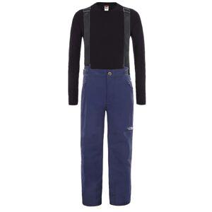 The North Face Youth Snowquest Suspender Plus Pants Blå