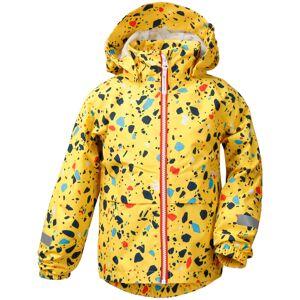 Didriksons Droppen Printed Kids Jacket Gul