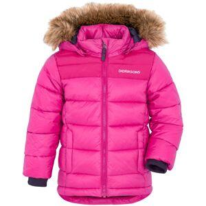 Didriksons Digory Kids Jacket 2 Rosa