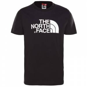 The North Face Youth S/S Easy Tee Svart