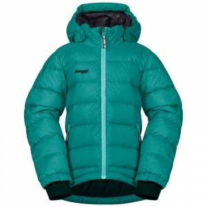 Bergans Down Kids Jacket Grön