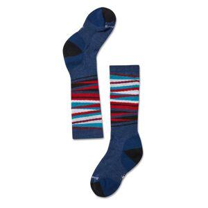 Smartwool Kid's Wintersport Stripe Socks Blå