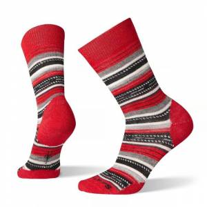 Smartwool Women's Margarita Socks Röd