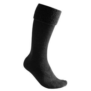Woolpower Socks Knee-high 600 Svart