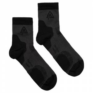 Aclima Running Socks 2-Pack Svart