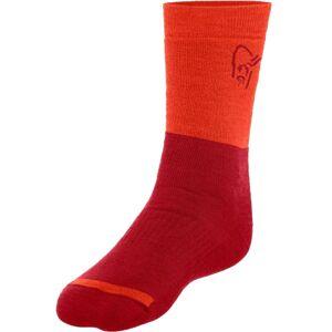 Norrøna Trollveggen Heavy Weight Merino Socks Röd