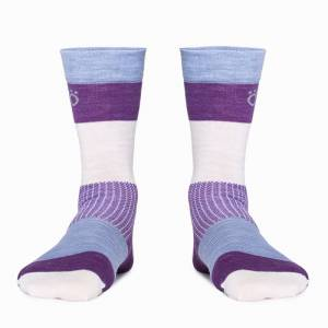 RÖJK Everyday Merino Socks Lila