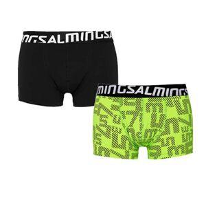 Salming Force, Boxer 2-pack Flerfärgad