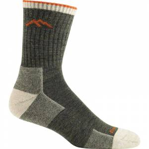 Darn Tough Men's Hiker Micro Crew Sock Cushion Grön