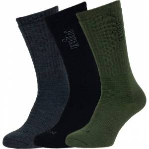 Avignon Wool Thick Socks 3 pairs Flerfärgad